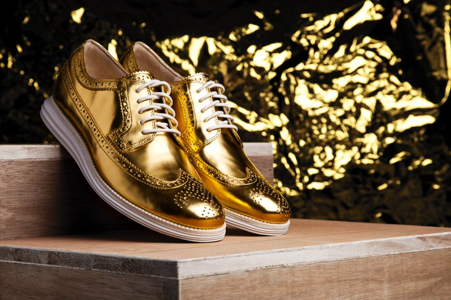 Cole Haan Limited-Edition Gold LunarGrand