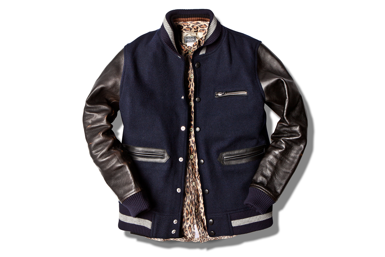 Image of Deluxe Varsity Jacket