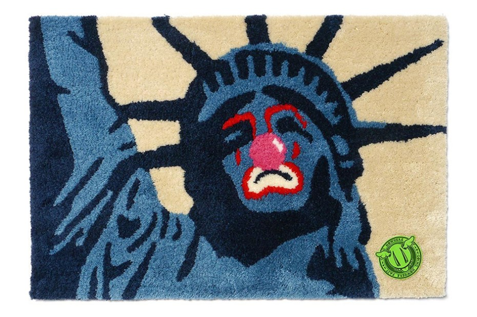 Image of D*Face x Sync. Sad Liberty Rag Mat