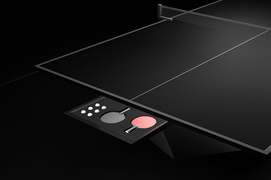 Image of Eleven Ravens $70,000 Ping Pong Table