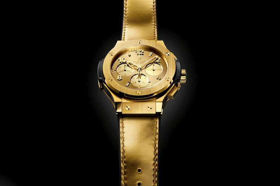 Image of Hublot Big Bang Zegg & Cerlatti Yellow Gold Watch