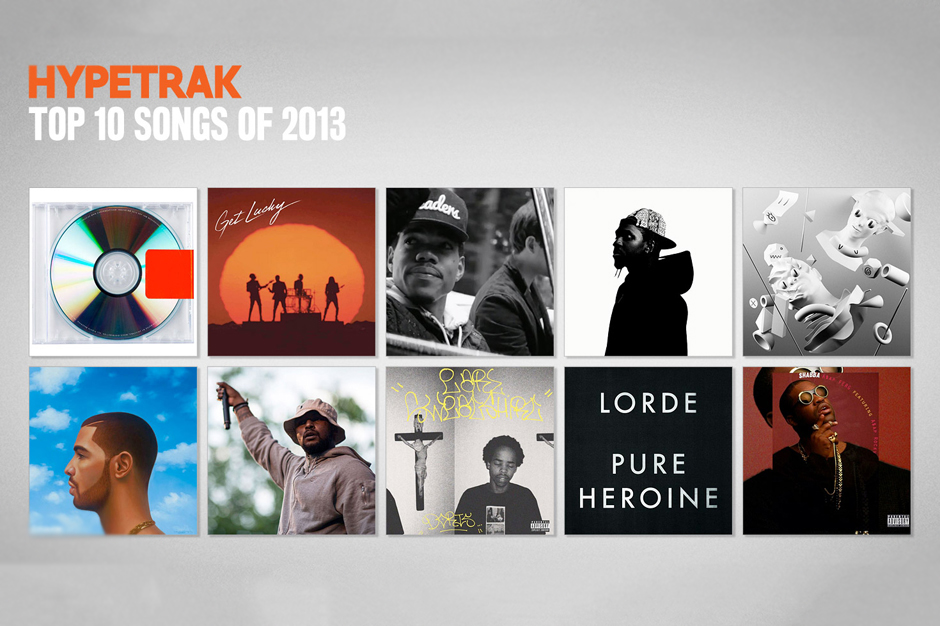 Image of HYPETRAK Top 10 Songs of 2013