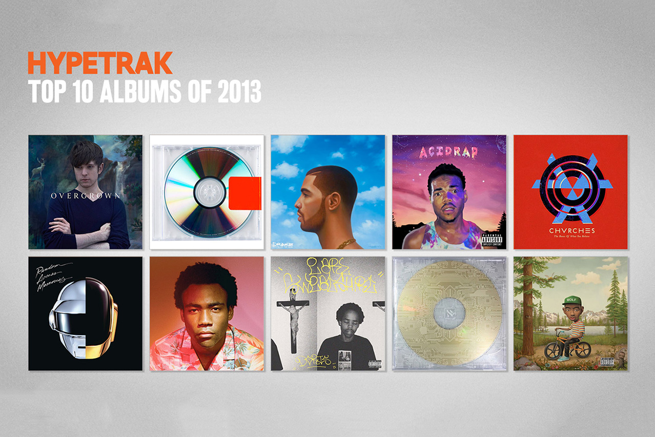 Image of HYPETRAK Picks Its Top 10 Albums From 2013