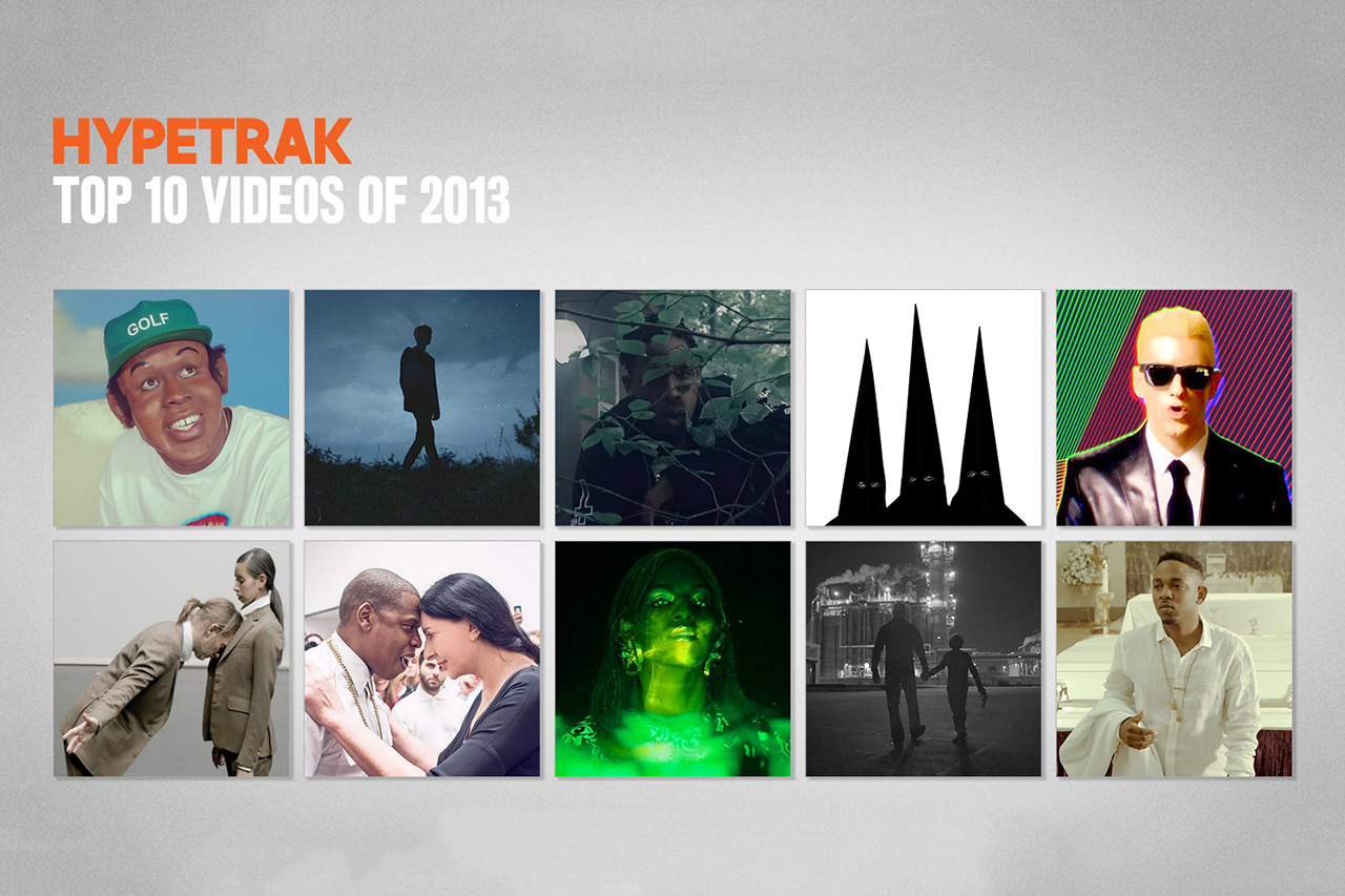 Image of HYPETRAK's Top 10 Videos of 2013