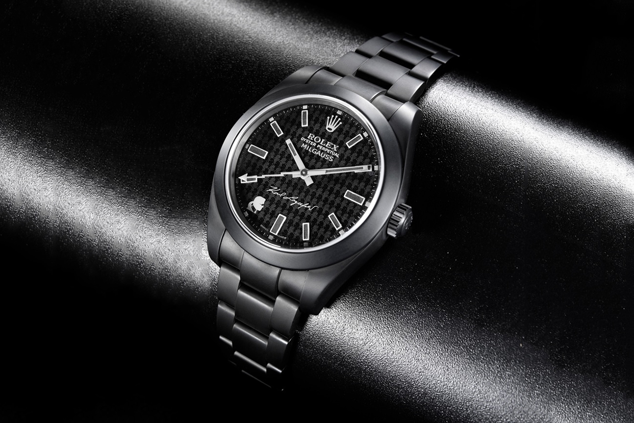 Image of Karl Lagerfeld x Bamford Watch Department Rolex Oyster Perpetual Milgauss