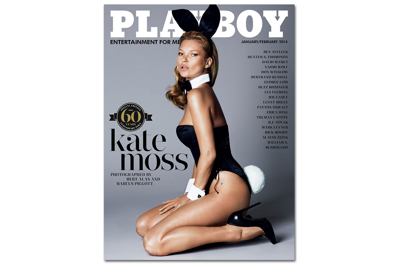 Image of Kate Moss for Playboy's 60th Anniversary Issue