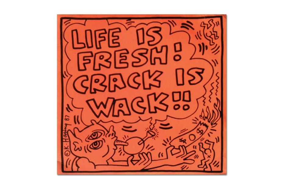 "Image of Keith Haring ""Ephemera, 1979-1990"" Online Exhibition @ Gallery98"