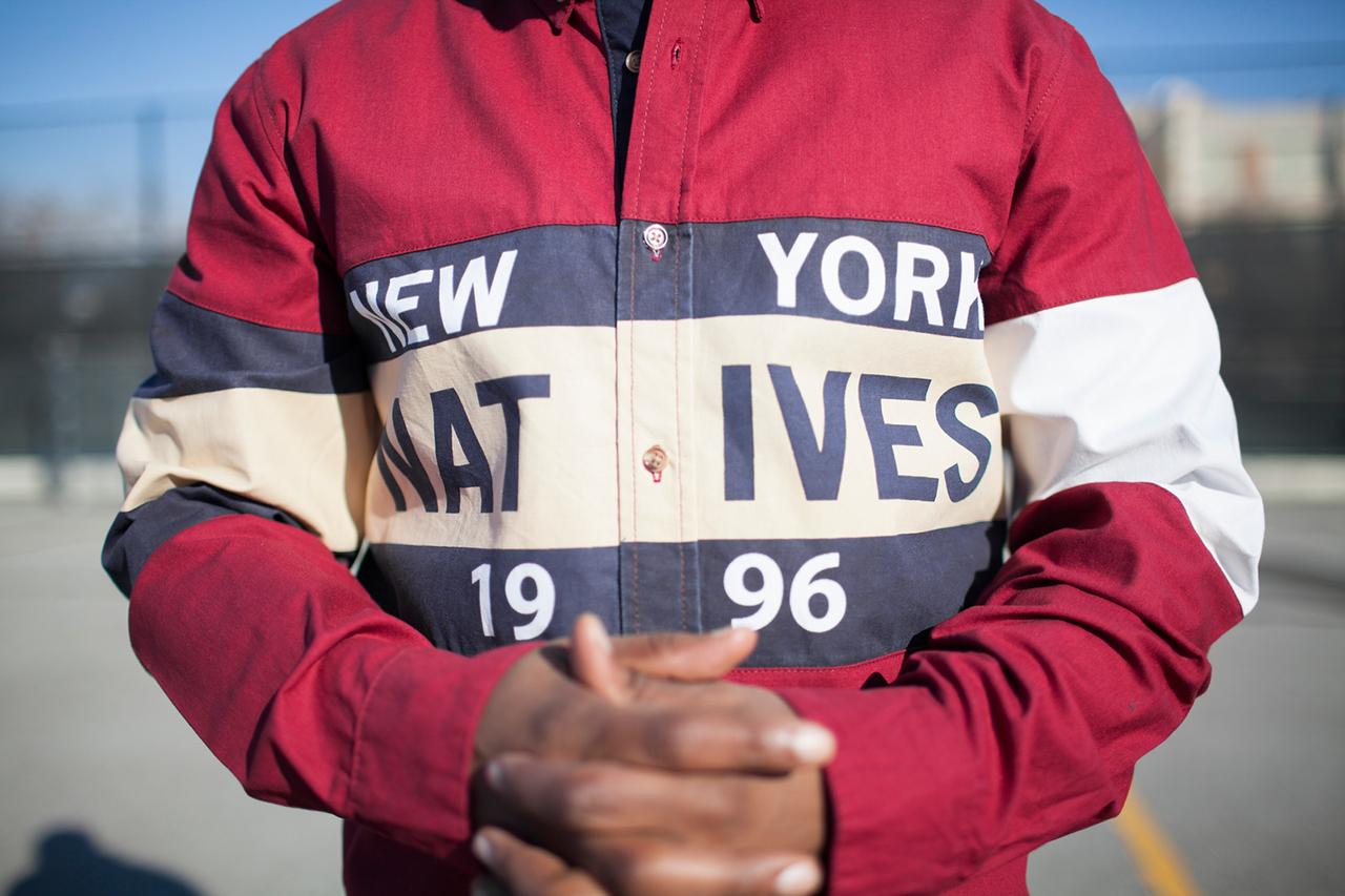 "Image of Kith 2013 Fall/Winter ""New York Natives 1996"" Lookbook featuring AZ"