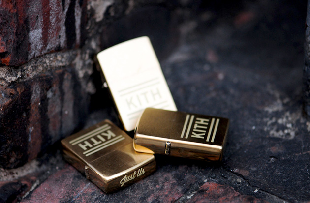 Image of Kith Gold Zippo Lighter