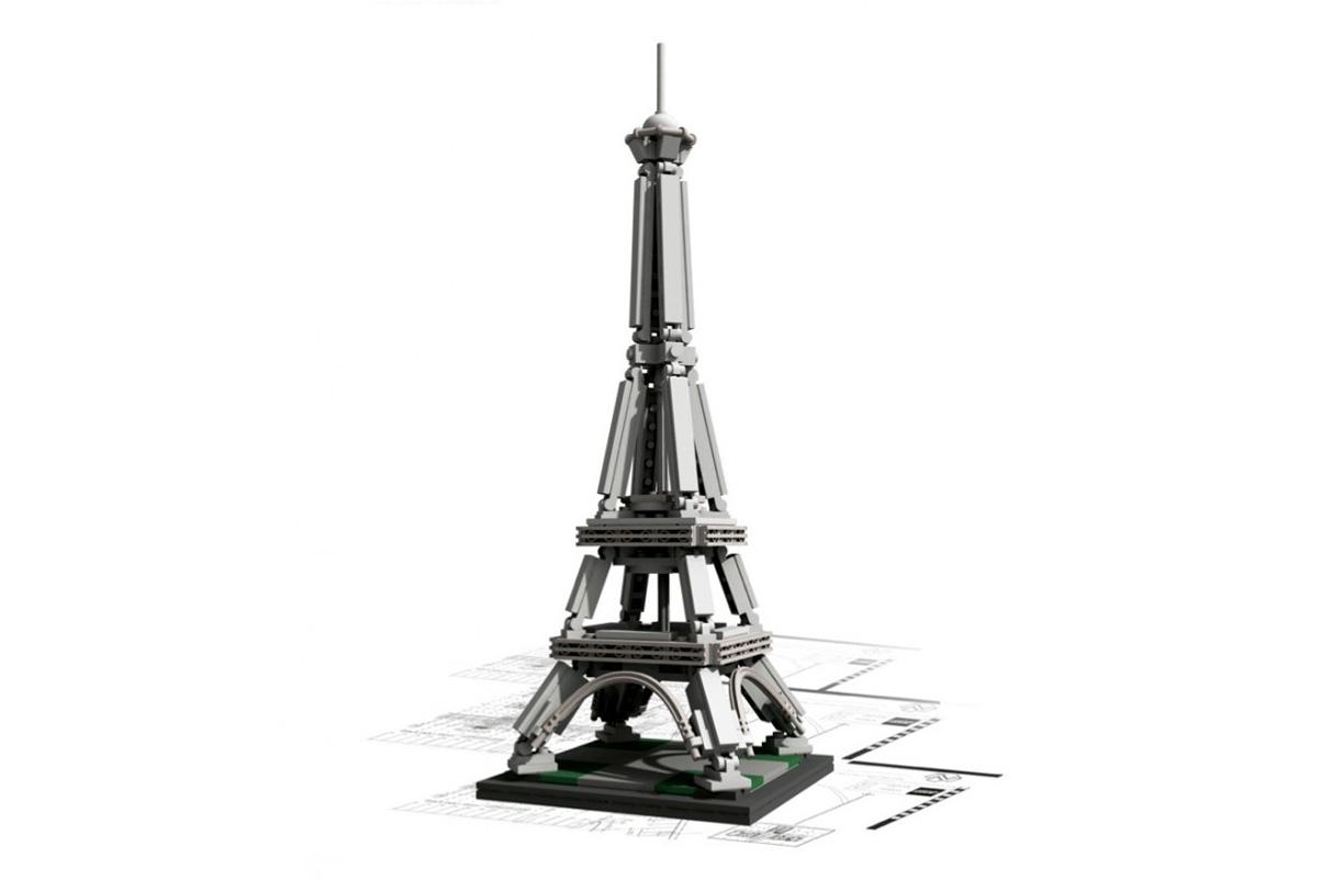 Image of LEGO® Architecture Landmark Series: The Eiffel Tower