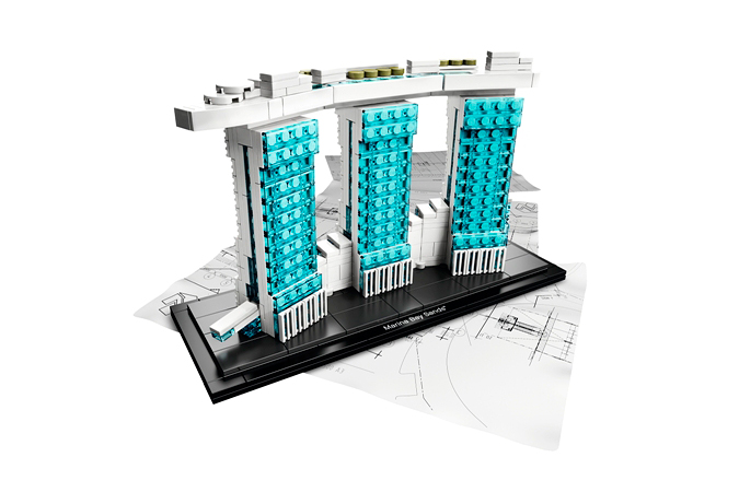 Image of LEGO® Architecture Series Marina Bay Sands