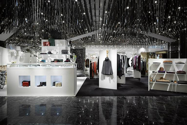 "Image of L'ESPACE Maison Martin Margiela ""Cadeau"" Interior at ISETAN's Shinjuku Store in Japan"