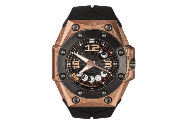 Image of Linde Werdelin Debuts Oktopus Moon Tattoo