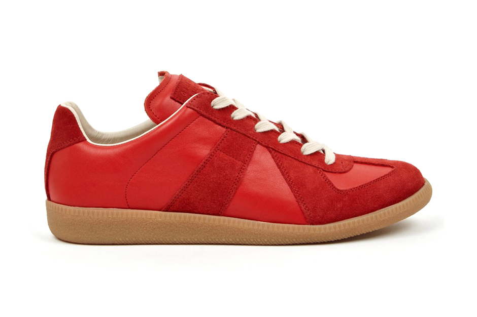 Image of Maison Martin Margiela 22 Red Replica Sneakers