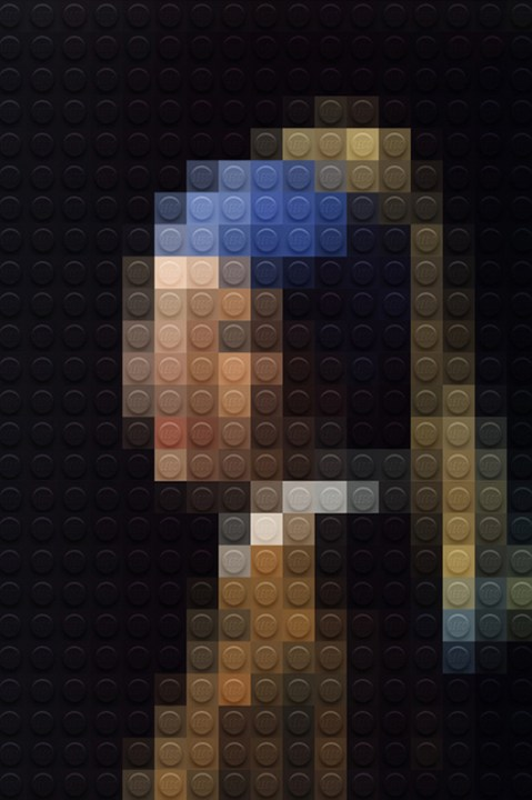Image of Marco Sodano Pixilates Classic Masterpieces Using LEGO