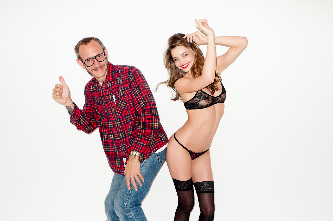 Image of Miranda Kerr Visits Terry Richardson's Studio