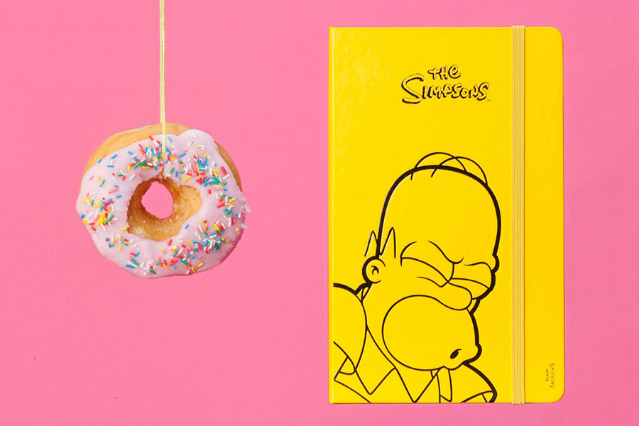 Image of The Simpsons x Moleskin Limited-Edition Collection