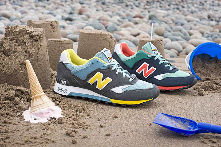 "Image of New Balance M577 Made in UK ""Seaside"" Pack"