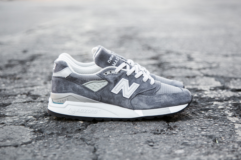 Image of New Balance Made in USA M998 Grey