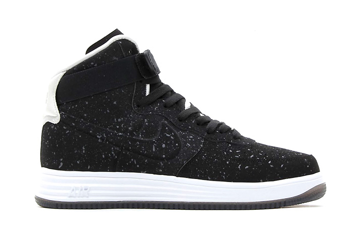 Image of Nike 2013 Holiday Lunar Force 1 Lux High VT Black/Black