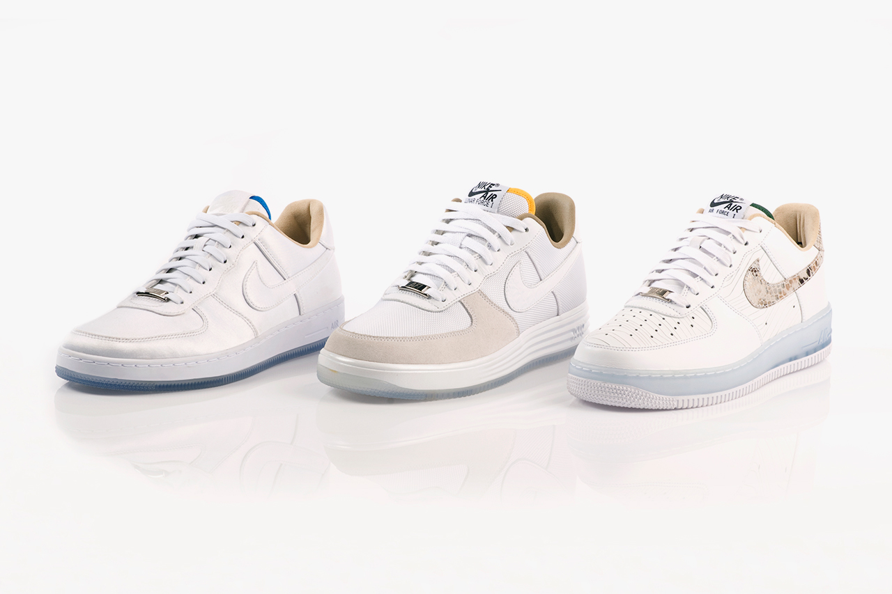 "Image of Nike Air Force 1 ""Brazil"" Pack"
