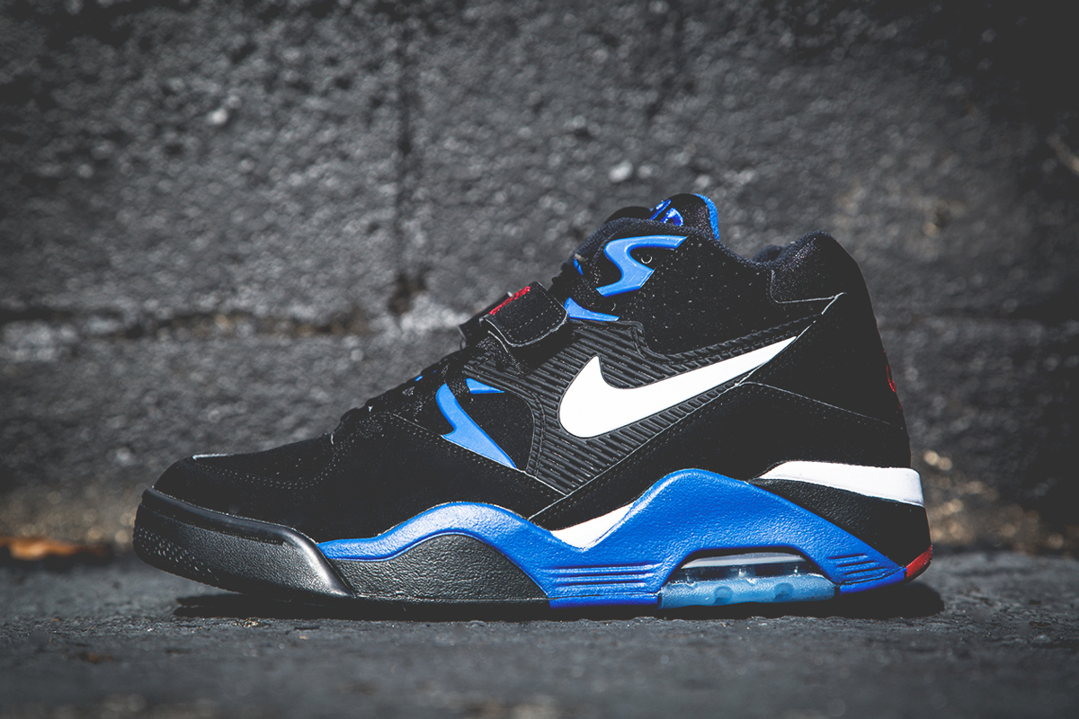 Image of Nike Air Force 180 Black/Sport Royal