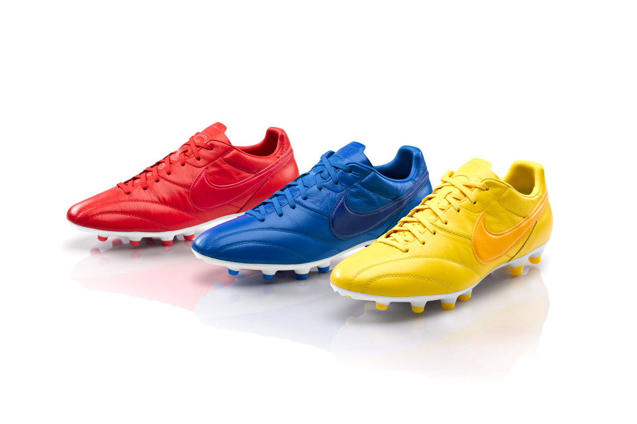 Image of Nike Football Debuts Brazil, France and England Editions of the Premier Boot