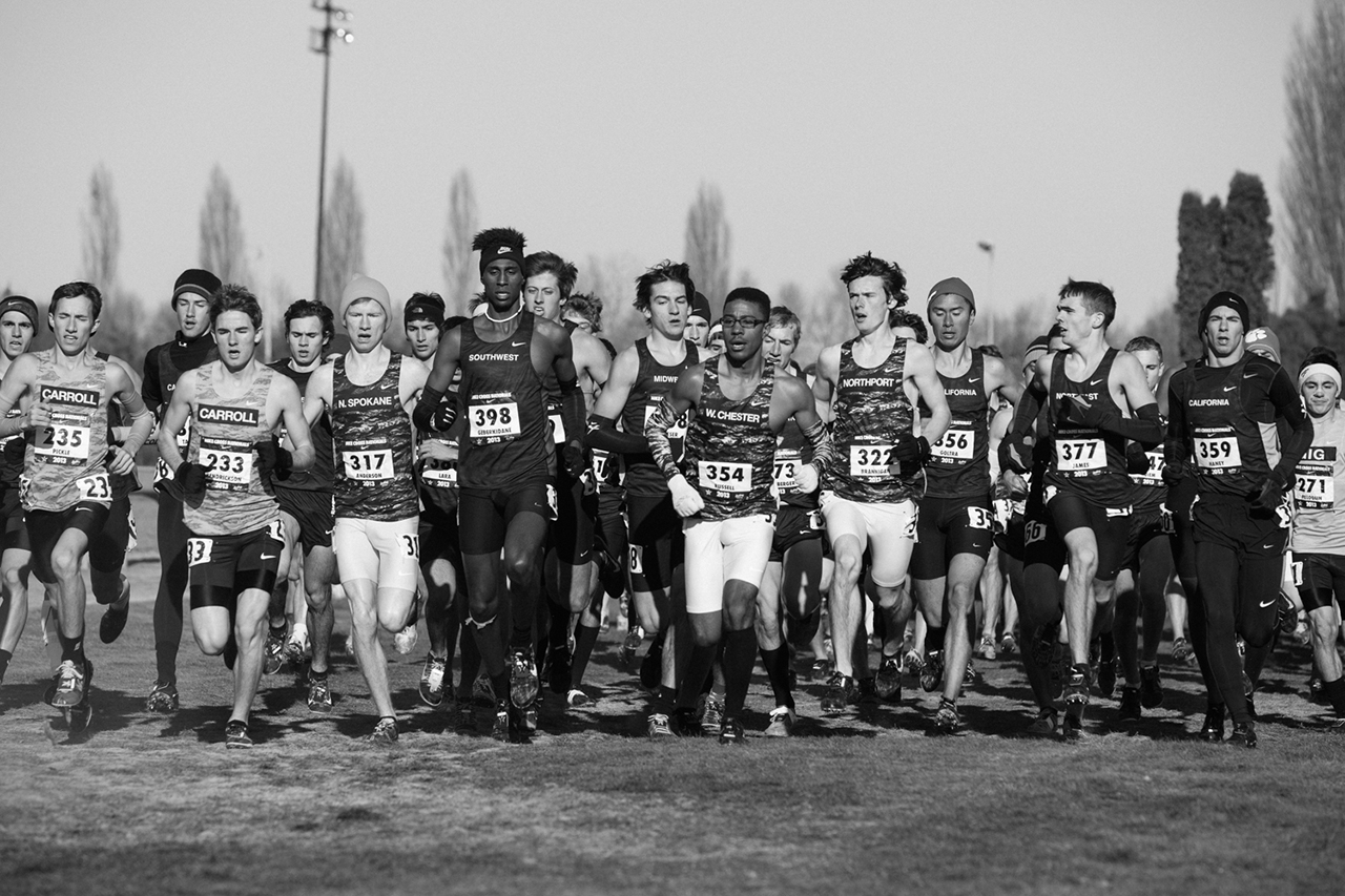 "Image of ""FUTURE CHAMPIONS"": Moments from the 2013 Nike Cross Nationals by Jerry Buttles"