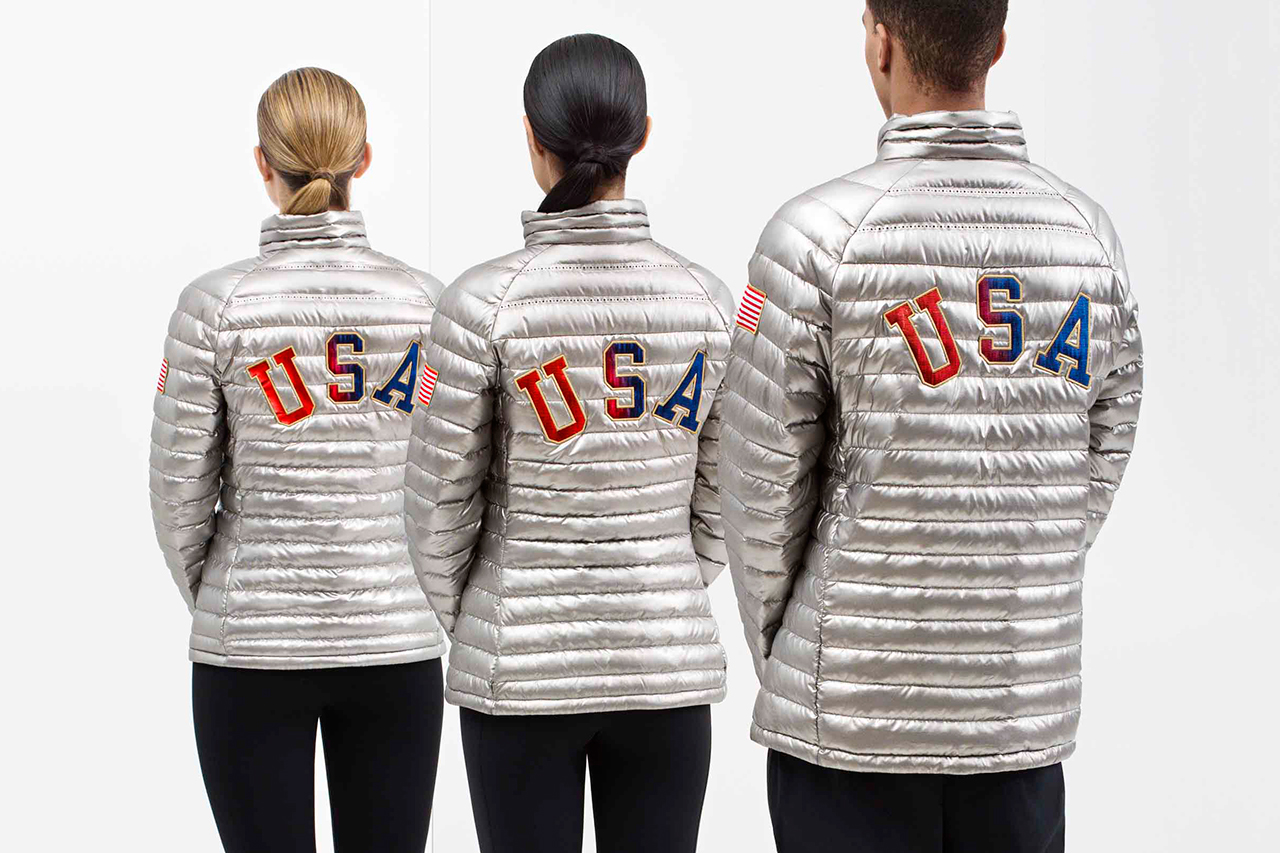 Image of Nike Unveils Team USA Medal Stand Apparel for 2014 Sochi Winter Olympics