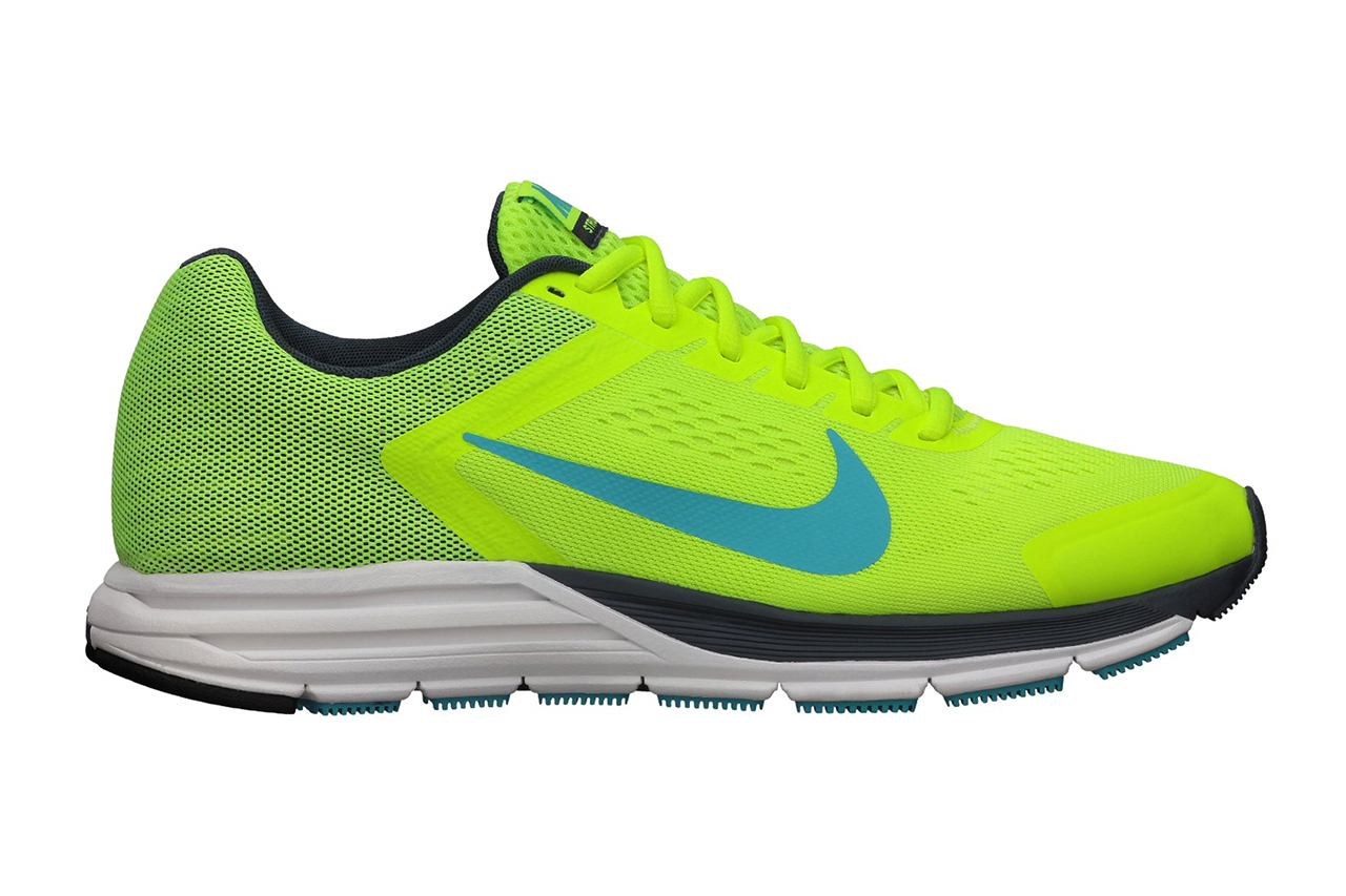 Image of Nike Zoom Structure+ 17 Volt/Gamma Blue
