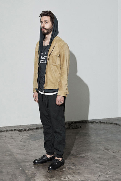 "Image of nonnative 2014 Spring/Summer ""Subcity Dweller"" Lookbook"