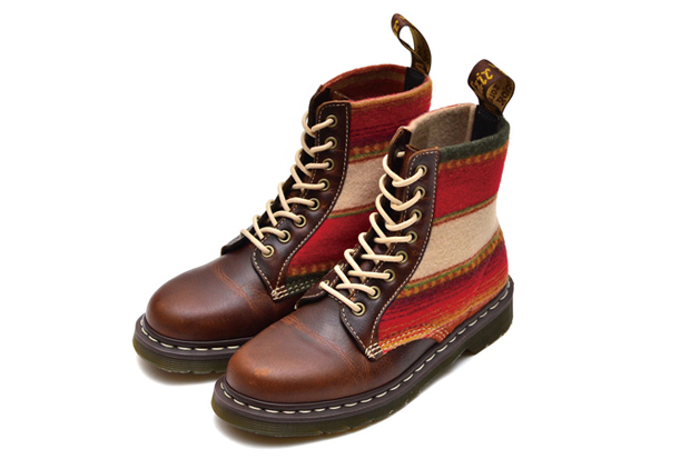 Image of Pendleton x Dr. Martens 8-Eye Boot