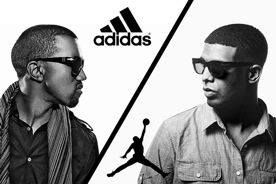 Image of Polls: Kanye West Signs with adidas & Drake with Jordan Brand - Who Came Out On Top?