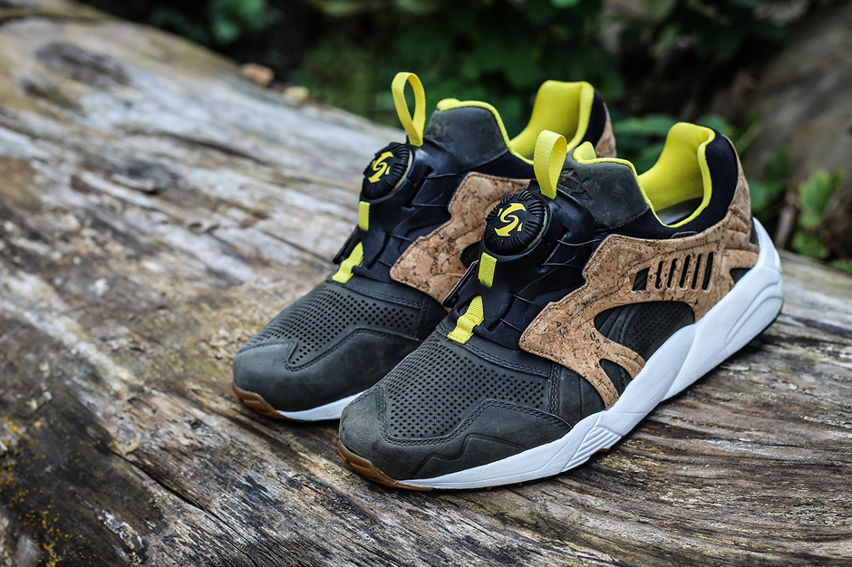 "Image of PUMA MMQ 2014 Spring Leather Disc Cage ""Cork"" Pack"