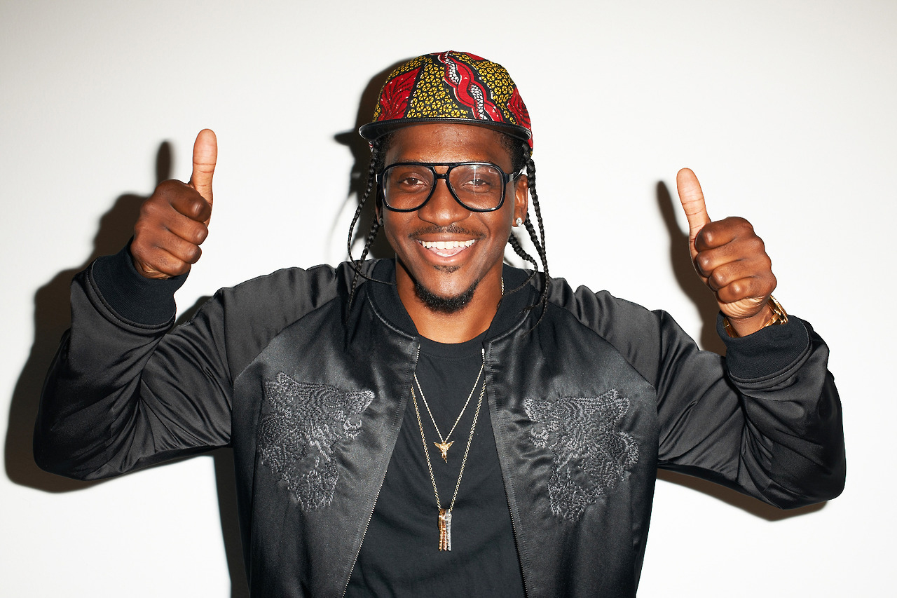 Image of Pusha T Visits Terry Richardson's Studio