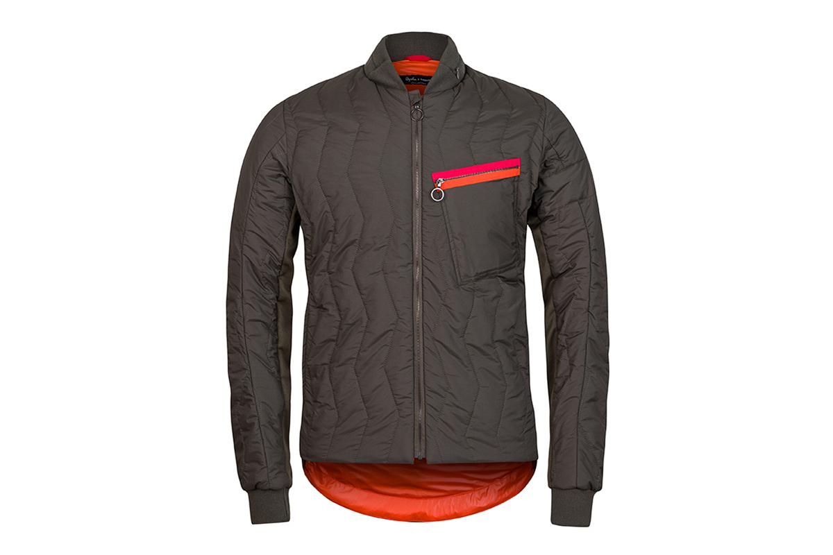 Cycling Jacket Rapha And Raeburn Quilted Cycling Jacket Hypebeast
