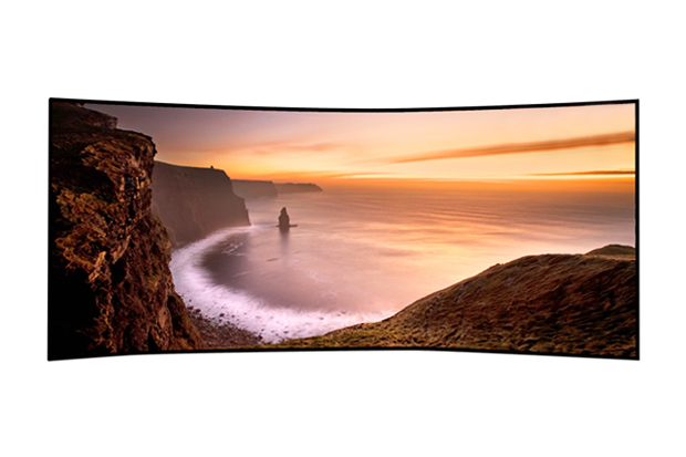 "Image of Samsung 105"" Curved UHD TV"