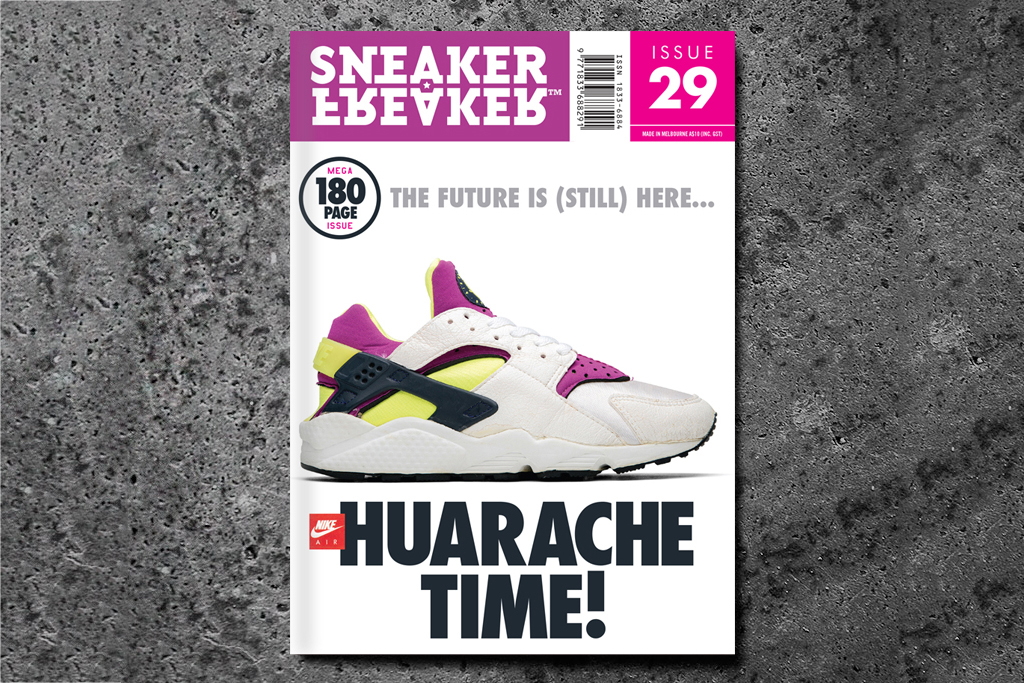 Image of Sneaker Freaker Issue 29 Huarache Time! Preview