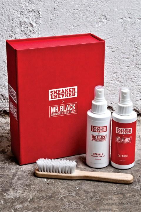 Image of Sneaker Freaker x Mr. Black Garment Essentials Cleaner Kit