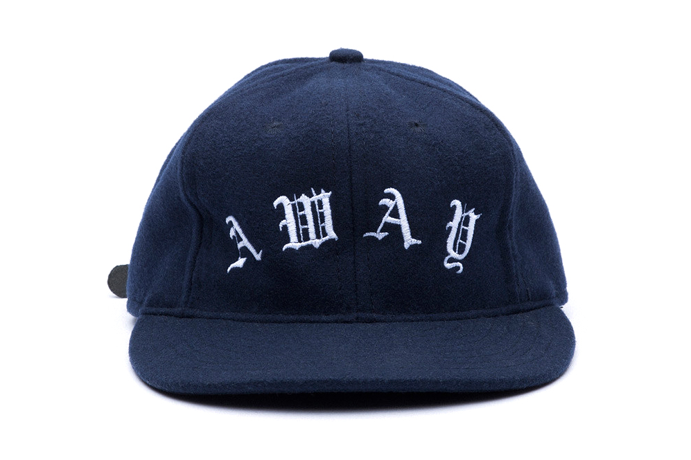 "Image of Soulland x Ebbets Field Flannels 2013 Winter ""Home"" & ""Away"" Embroidered Caps"