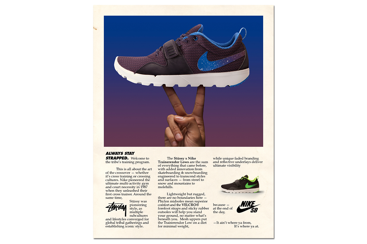 Image of Stussy x Nike SB Trainerendor Pack