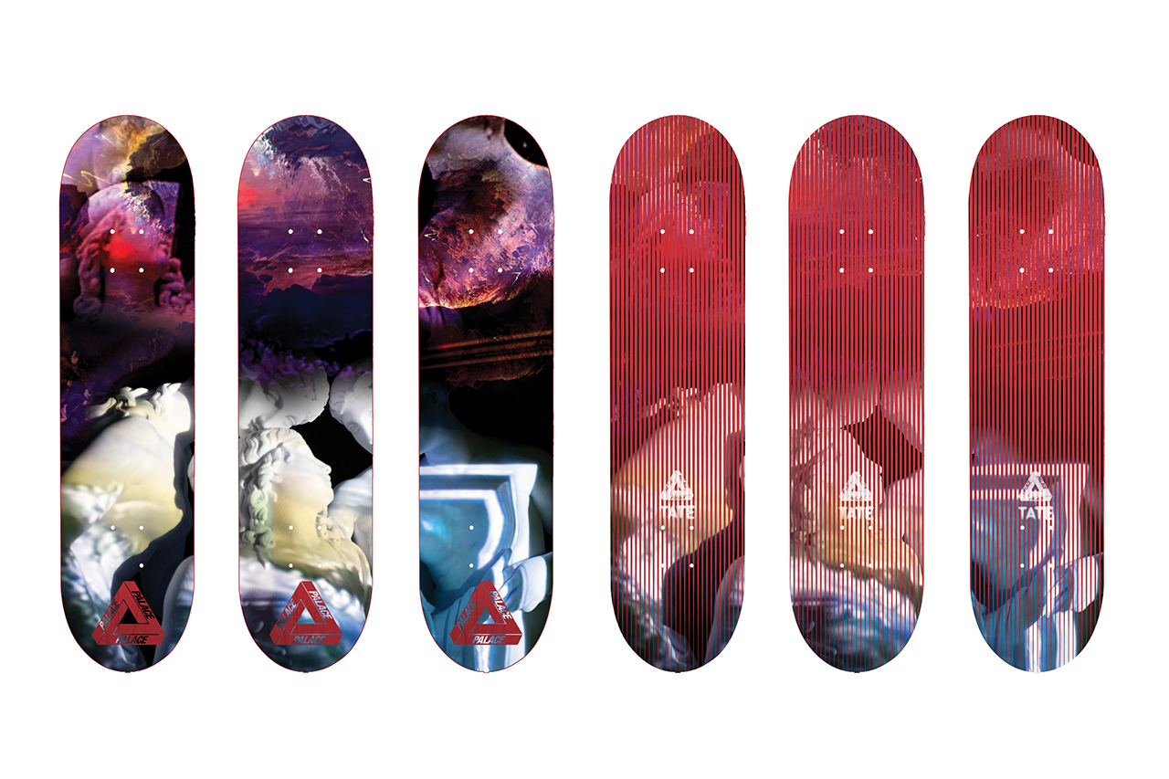 Image of Tate Britain x Palace Skateboards Inspired by John Martin