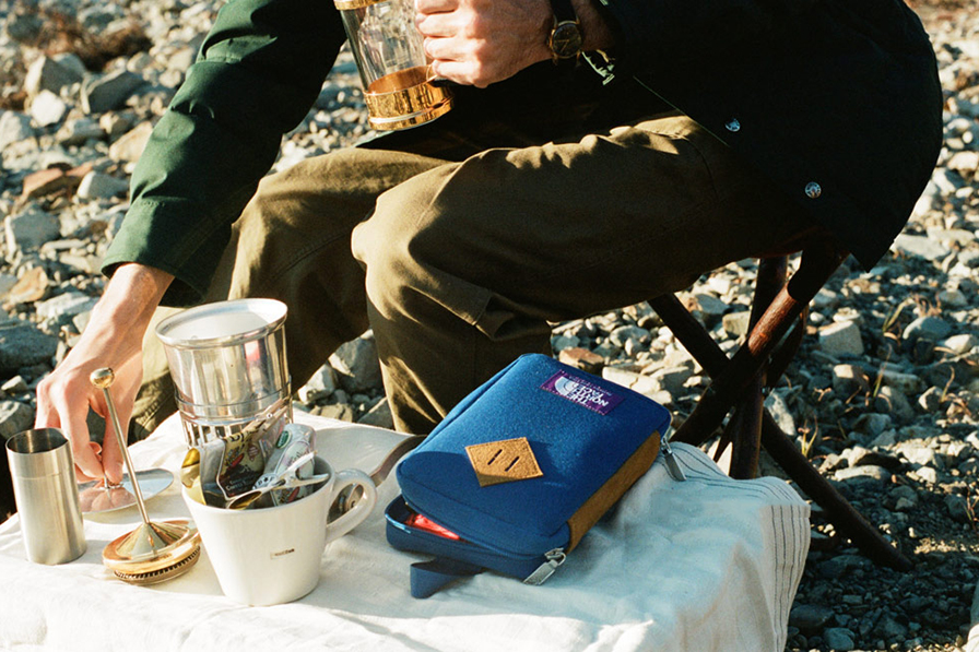 Image of THE NORTH FACE PURPLE LABEL x Hobonichi TNF Field Pack Lookbook