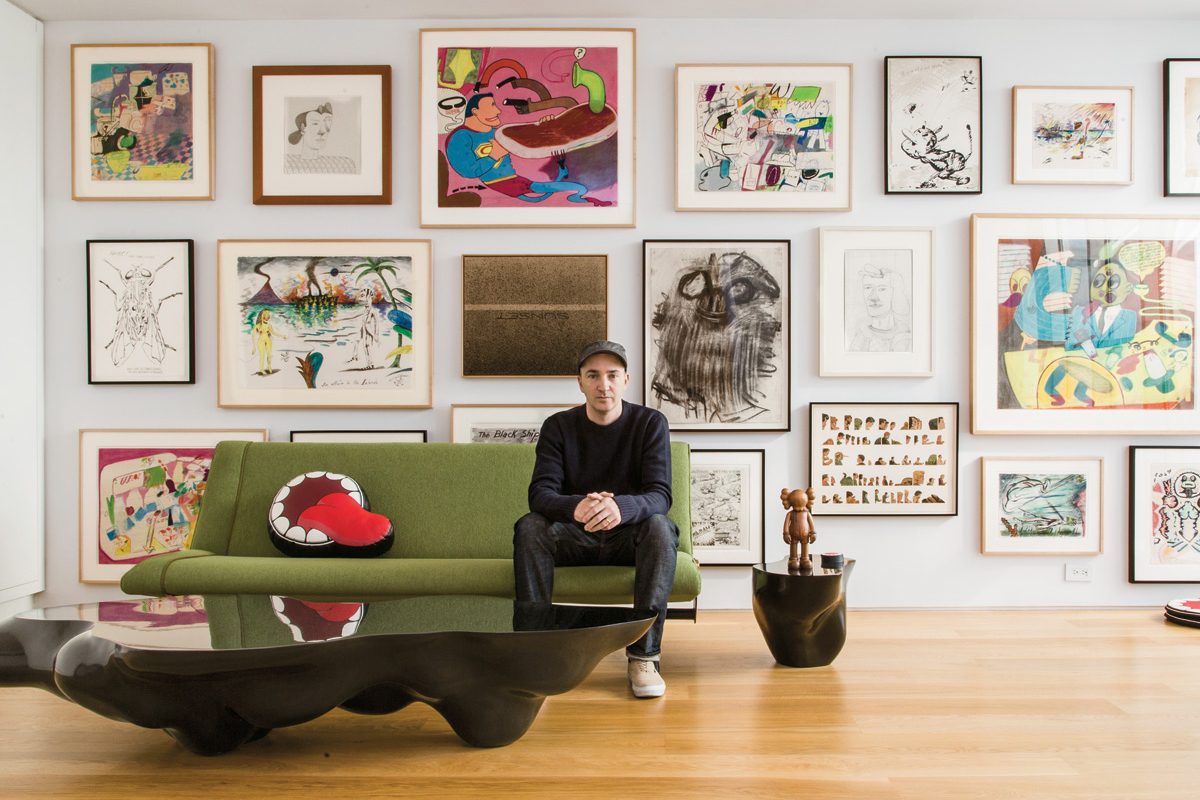 Image of The Personal Art Collections of Jeff Koons, KAWS & More