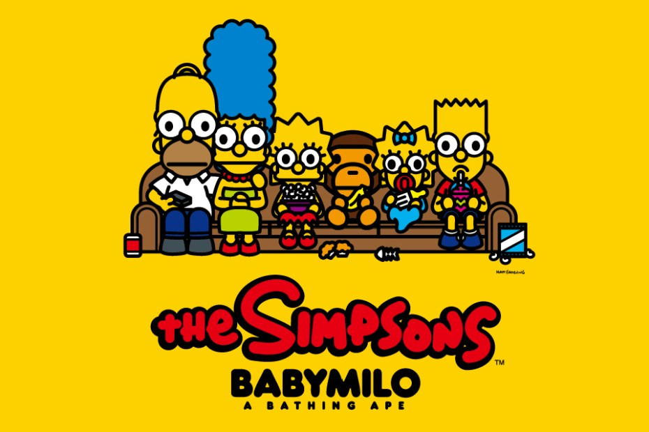 Image of The Simpsons x A Bathing Ape Baby Milo Collection