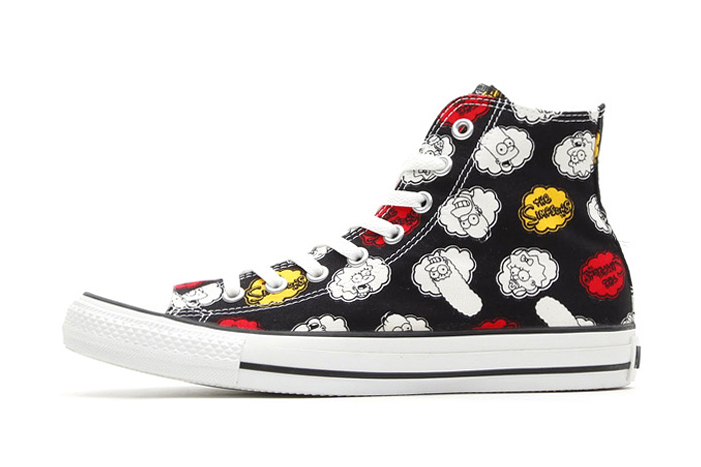 Image of The Simpsons x Converse 2014 Spring Chuck Taylor All Star Hi