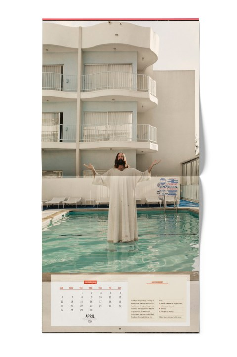 "Image of The Standard Hotel 2014 ""A Year of Unusual Requests"" Calendar"