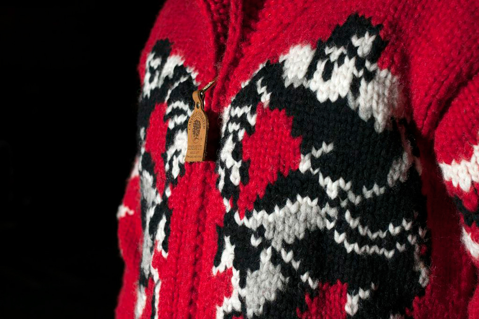 """Image of Undefeated x Canadian Sweater Company Ltd. """"Penalty"""" Sweater"""