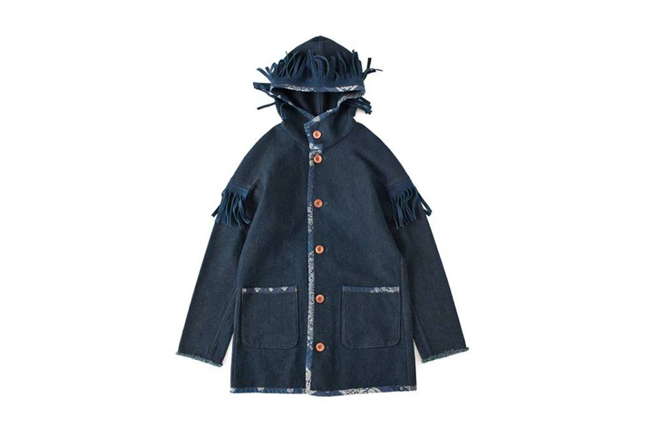 Image of F.I.L. Indigo Camping Trailer 2013 Holiday HOODED JACKET