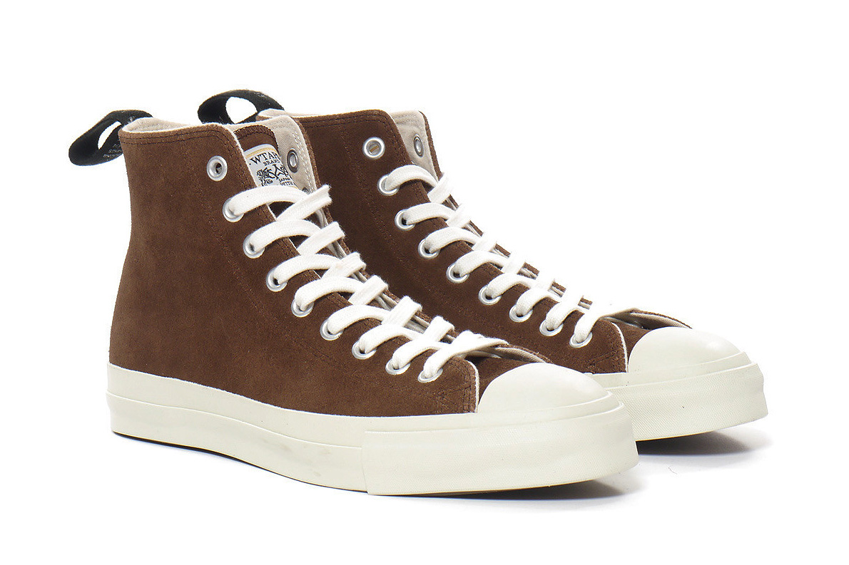 Image of WTAPS Suede Hi Top Sneakers